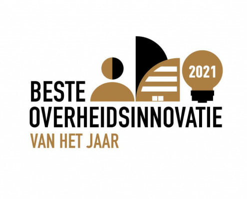 Logo Verkiezing Beste Overheidsinnovatie van het Jaar 2021